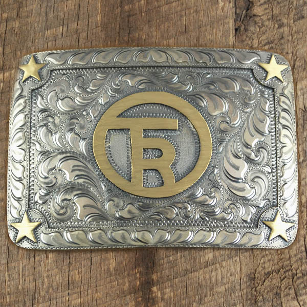 Hand Engraved Buckle By IM Silver