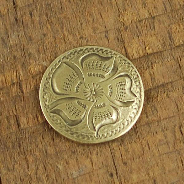 Bronze Half Inch Concho by IM Silver