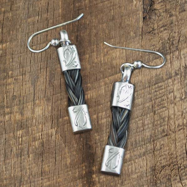 Double End Horsehair Earring