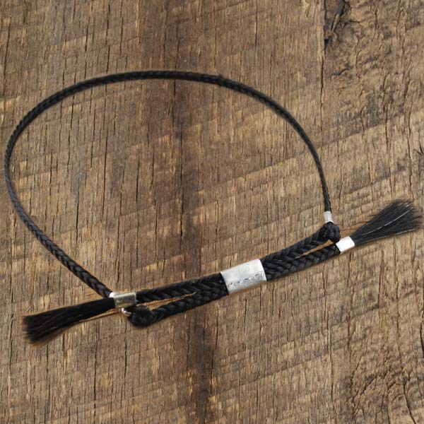 Horsehair Hatband Small Braid
