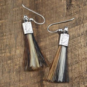 Tassel Horsehair Earrings