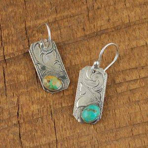 Mona Lisa Turquoise Earrings