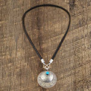 Horsehair Necklace and Pendant